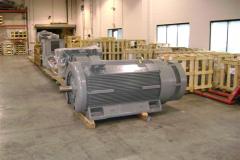 Dykman motors in warehouse