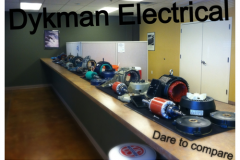 ELECTRIC MOTOR DARE TO COMPARE
