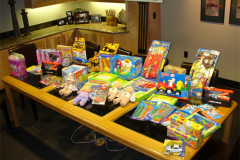 Christmas Eve Toy Donation for St Luke's Children's Hopsital