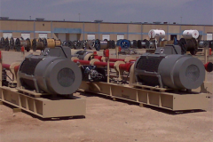 800 HP TECO Motors Ready to Pump Oil